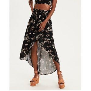 AE Side Slit Maxi Skirt